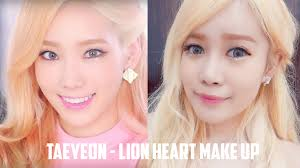 as you guys know that i d my hair golden blonde it is to match taeyeon snsd for this tutorial yes that s my real hair but for the length
