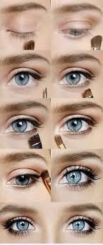 homeing makeup for blue eyes photo 1