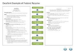 1 Excellent Example of Federal Resume ...