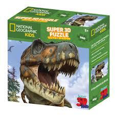 "<b>Пазл</b> Super <b>3D</b> ""Тираннозавр"", <b>100 элементов</b> Prime3D – купить ..."