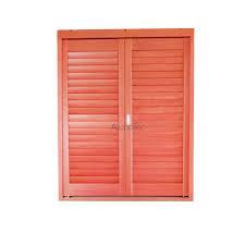 adjule wooden ventilation louvre shutter for doors and windows