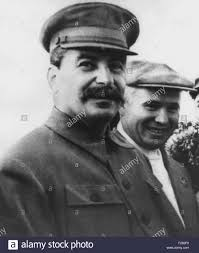 russian n stock photos russian n stock images alamy soviet russian leader joseph stalin in 1938 to right is nikita khrushchev a member