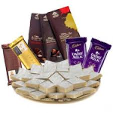 sweets bo with orted chocolates father s day mysore india