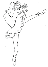 Printable Ballerina Coloring Pages Free Coloring Sheets