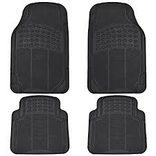 Amazoncom BDK All Weather Rubber Floor Mats for Car SUV Truck