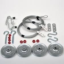 garage door kitBuy Garage Door Extension Spring Containment Hardware Kit Online