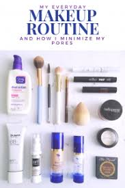 i went through my daily makeup routine and wanted to put this post together for you lately i ve been trying diffe ways to minimize my pores because