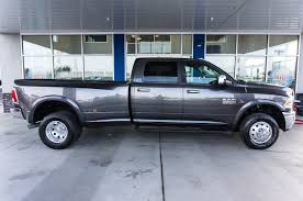 dodge trucks for sale diesel. Modren For Used 2015 Dodge Ram 3500 Laramie Dually 44 Diesel Truck For Sale Within  Wheels To Trucks E