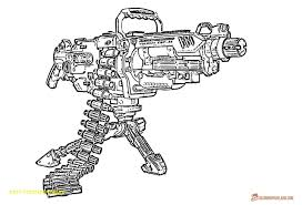 Nerf Gun Coloring Pages Cherylbgood Co