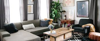 transitional living room stacey s