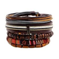 multilayer braided <b>leather bracelet</b> - Buy Cheap multilayer braided ...
