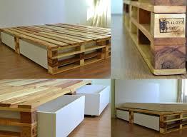 diy storage bed bed frames diy king bed frame with storage plans
