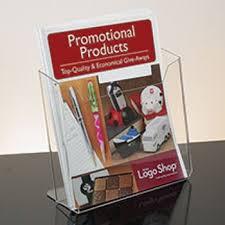 Wide Magazine Holder magazine rack brochure holder acrylic literature display 88