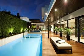 modern outdoor living melbourne. stylish melbourne home dazzles with a lavish pool space modern outdoor living o