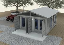Design Container Home Concept