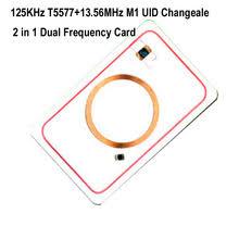 <b>RFID</b> двойная <b>частота 125</b> кГц T5577 и 13,56 МГц 1K UID пустая ...