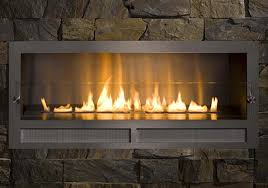 image of ethanol fireplace outdoor