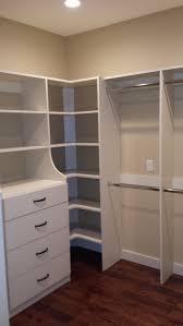 corner closet shelves lovely large drawer unit with corner shelving cuartos large