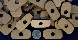 small cardboard rectangles