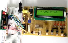 making a digital capacitance meter using microcontroller capacitance meter