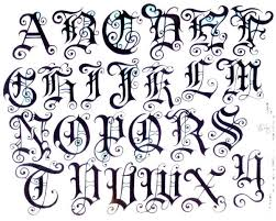 Font Styles For Tattoos Tattoos Tattoo Fonts Images Styles Ideas Pictures