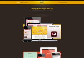 perfection in a portfolio a web design showcase webdesigner depot ovenbits