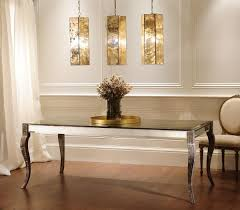 Dining Room Mirror Pretty Mirrored Buffet In Dining Room With - Mirrors for dining rooms