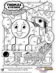 Thomas The Train Coloring Pages Free