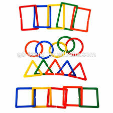 New <b>5 colors big size</b> learn sorting shape links for educational toys ...