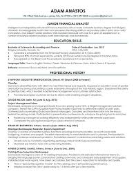 New Grad Resume Sample