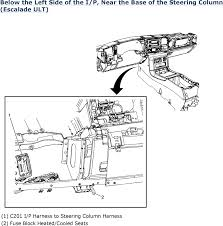 mazda miata l mfi dohc cyl repair guides wiring below the left side of the i p near the base of the steering column escalade ult 2006