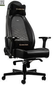 <b>Игровое кресло Noblechairs Icon</b> (Черный / желтый) купить за ...