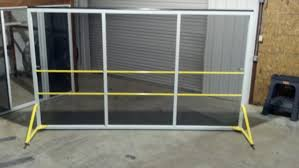 roll up garage door screenRollaround Screens for rollup warehouse doors from Advanced