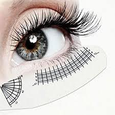 Fake Eyelash Size Chart Amazon Com Eyelash Growth Chart Eyelash Extension