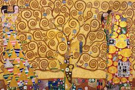 abstract gustav klimt oil painting on canvas handmade the tree of life stoclet frieze 1909 wall art for living room decor novelties for kids novelties