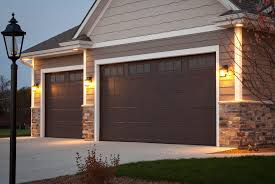 walnut garage doorsInsulated Steel 600 Series