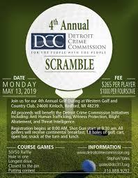 Detroit Crime Commission Golf Outing Asis Detroit