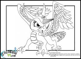 Skylanders Dragons Coloring Pages Com Coloring Pages Photo Shared ...