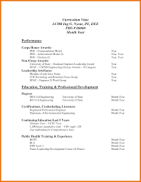 Pdf Resume Template Professional Cv Format In Ms Word Doc Free