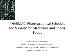 Medicines Schedule Ppt Pharmac Pharmaceutical Schedule And Subsidy For Medicines And