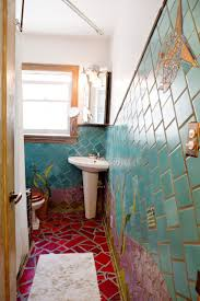 Best Bohemian Bathrooms Images On Pinterest - Mosaic bathrooms