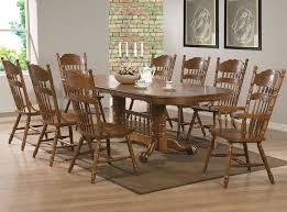 IoHomes 7pc Country Style Dining Table Set WoodBlack And Oak  TargetCountry Style Table And Chairs