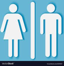bathroom symbol. Perfect Symbol Man And Woman Bathroom Symbol Vector Image In Bathroom Symbol T