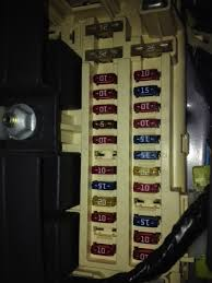 jeep cherokee electrical 1997 2001 xj fuse relay power distribution center located under the hood