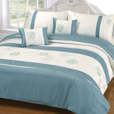 thornwell duck egg duvet and pillowcase set bedding the range