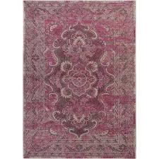palazzo gray purple 8 ft x 11 ft area rug