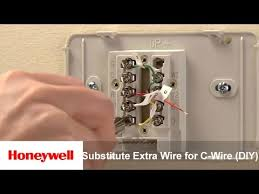 honeywell wi fi thermostat diy installation substitute extra wire honeywell wi fi thermostat diy installation substitute extra wire for c wire training honeywell