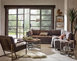 Ink+Ivy Grant Charcoal Upholstered 5-Piece Casual Sectional   Living room  collections, Nickel floor lamp, Home furniture