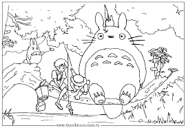 Small Picture Totoro Coloring Pages GetColoringPagescom