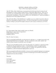 Letters Of Appeal Example Letter Of Appeal To University Inspirationa Letter Appeal